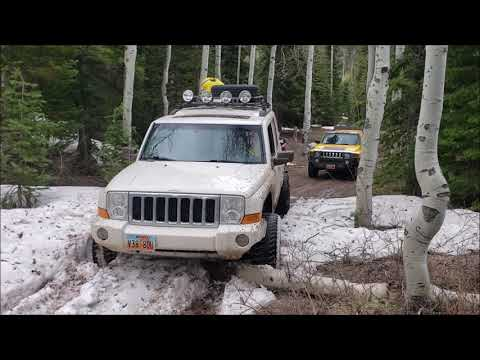 4x4 In AF Canyon With A H3 And Jeep Commander