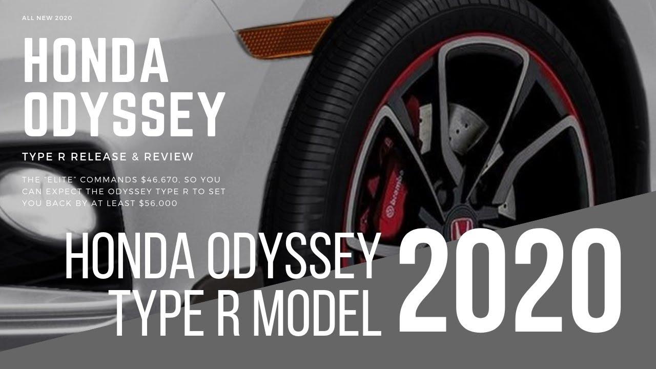 2020 Honda Odyssey Type R Model Price