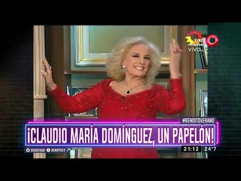 ¡Claudio María Domínguez, un papelón!