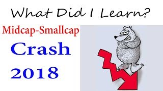 What Did I learned SmallCap Midcap Crash 2018