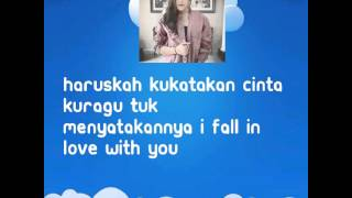 Lirik Prilly latuconsina - falling in love