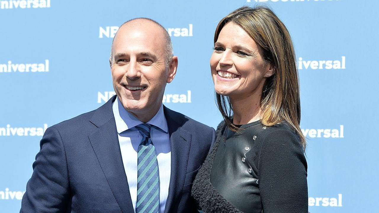 Inside Matt Lauer And Savannah Guthrie S Today Show Relationship Youtube
