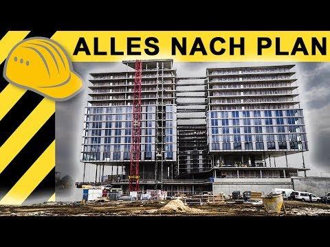 Doku: Bau eines Mega Hotels | Zeppelin Rental ON THE JOB