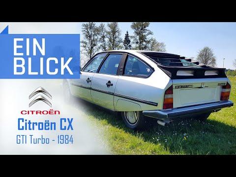 Citroën CX GTI Turbo 1984 - Klassiker Mit Charakter Und Eigensinn - Vorstellung, Test & Kaufberatung