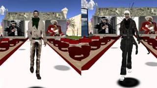 Mr Zigrich Zsigmond Second Life Model Video