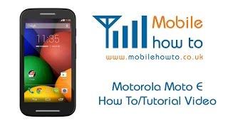 How To Check For Software Updates - Motorola Moto E