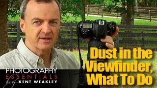 Dust in Camera Viewfinder? What To Do