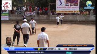 George kalyan vs haeshali | Box Cricket Live Mulund | Yuva Ranger Sports