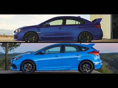 2018 subaru sti vs ford focus rs youtube. Black Bedroom Furniture Sets. Home Design Ideas
