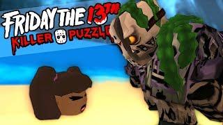 LA PLAGE SANGLANTE   Friday the 13th killer puzzle #5