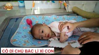 Tặng Gạo và Lì Xì cho bé 2 tuổi ăn bằng ống, viêm phổi mạn, chân thấp chân cao, suy tim