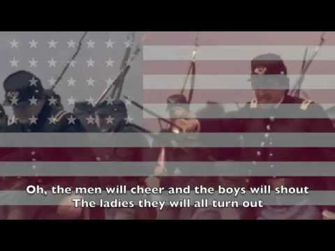 American Civil War Song: When Johnny Comes Marching Home