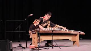 Patcnews February 18, 2019 The Japanese Chinese Festival Musical Instrument Guzheng Player