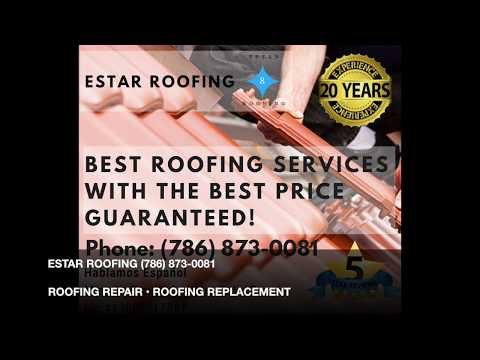 Pompano Beach, FL:. Roofing Repair, Roofing Replacement, New Roof Install