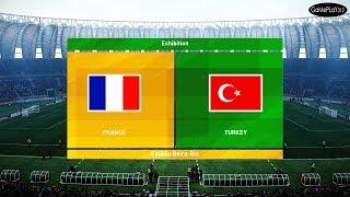 PES 2020 - FRANCE VS TURKEY - EURO 2020