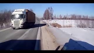 Опасные обгоны, приколы на дороге
