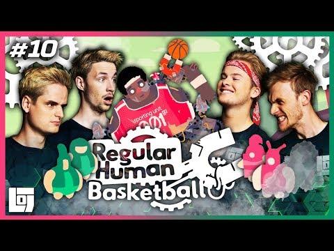 DUNKEN DUNKEN DUNKEN! met Don en Link VS Roy en Milan | Regular Human Basketball | LOGS3 | #10