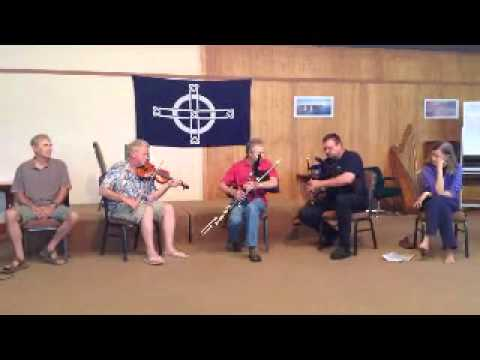 Pat Lyons Class with Dave on B Flat Fiddle