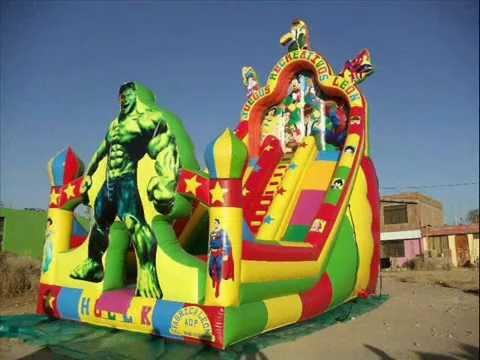 ALQUILER DE JUEGOS INFLABLES PARA NIOS  alquiler de juegos recreativos para nios  infantiles