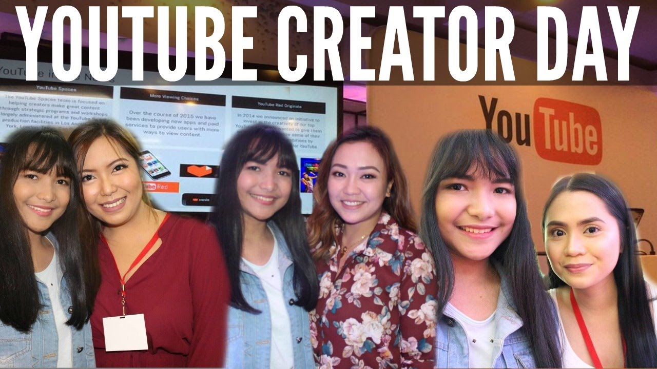 Youtube Creator Day Manila,Philippines | Say Tioco, Anna Cay, Anne ...