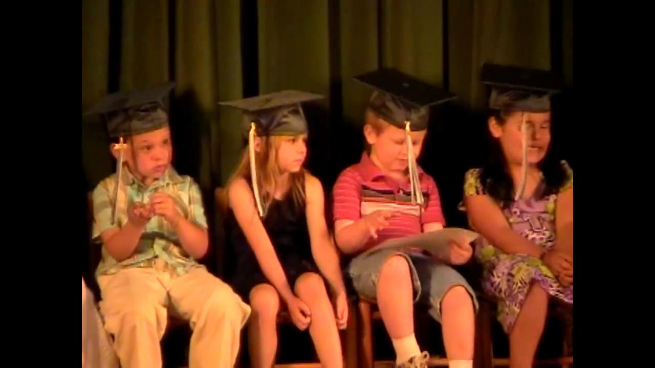 CCRS Kindergarten Graduation  6-22-10