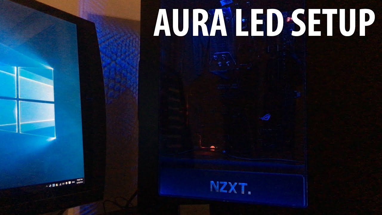 Gaming PC: Setting Up the ROG AURA LED Strips