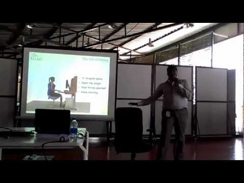 Ergonomics session for ideal workspace by Recoup