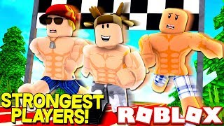 ATHLETE SIMULATOR EN ROBLOX! (STRONGEST/FASTEST ROBLOX PLAYER)