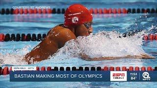 Bastian soaked in his Olympics…
