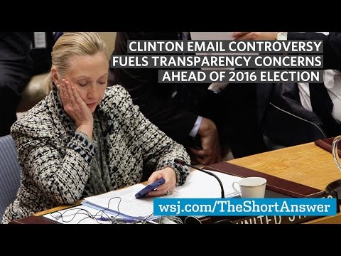 Clinton Email Controversy Ahead of 2016 Election