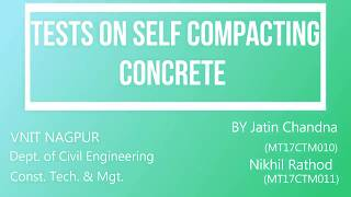 importance of using self compacting concrete construction essay Self compacting concrete as a friendly environmental material the possibilities for automation of concrete construction the use of self-compacting concrete in.