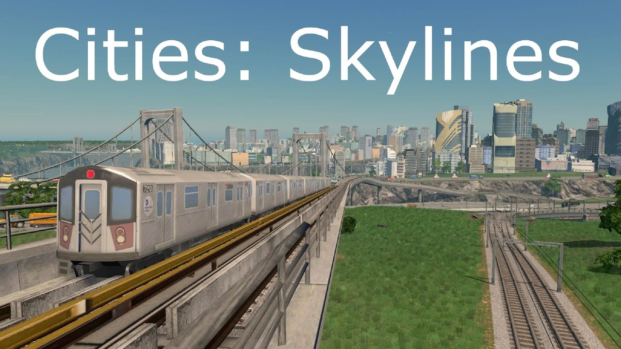 Cities: Skylines - A Cinematic Tour (With Metro Overhaul Mod)
