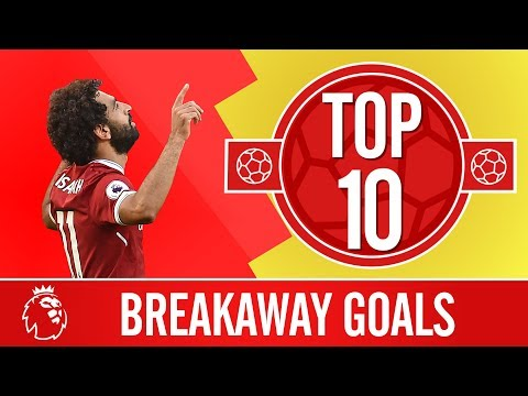 TOP 10: The best breakaway goals in the Premier League | Man
