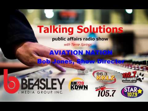 Talking Solutions and Aviation Nation