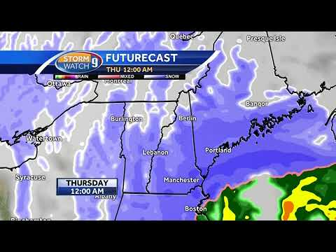 Watch: Steady snow arrives this afternoon, evening