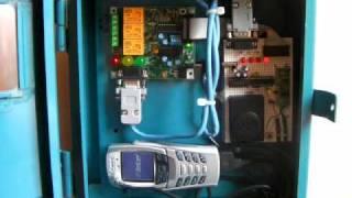 CONTROL REMOTO GSM NOKIA MICROCONTROLADOR PIC 16F88 PUNTO FLOTANTE S.A.