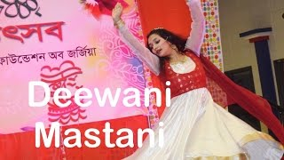 deewani mastani full dance live on stage