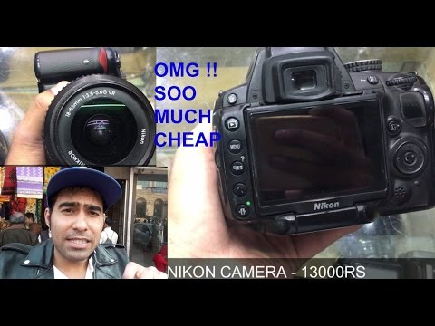 cheapest used DSLR/CAMERA market[exploring- tripod,lights,dslr,handycam] | kucha choudhary | delhi