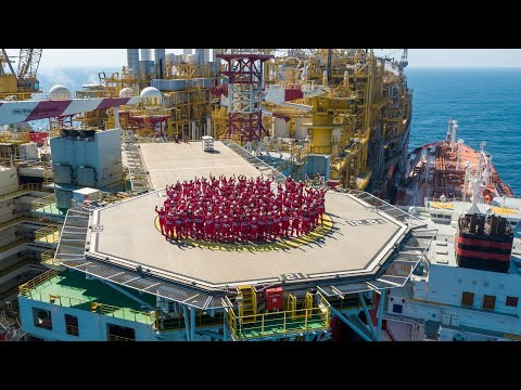 Life onboard a floating LNG facility | Prelude FLNG