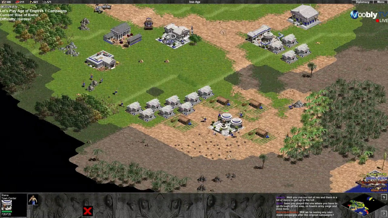 Age of Empires: The Rise of Rome Demo - Internet Archive