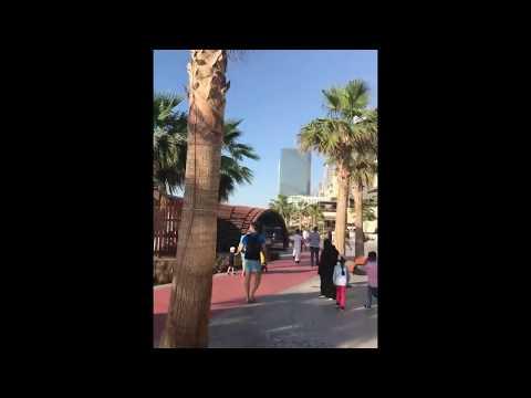 jumeirah beach walk