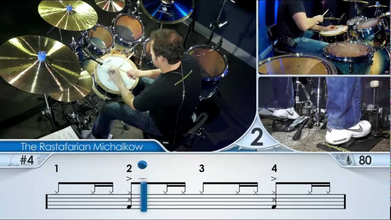 How To Play Reggae On The Drums - Drum Lesson (DRUMEO)