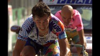 Pantani, quel giorno a pampeagogiro d'italia 1998. diciottesima tappa, 115 chilometri, da selva di val gardena all'alpe pampeago. e tre salite, tutte tr...
