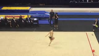 Eliza Cohen Rhythmic Nationals Ball 2017