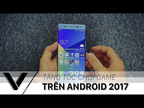 Hướng dẫn tăng tốc chơi game trên điện thoại Android