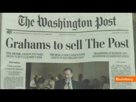 Jeff Bezos, The Post and the Future of Print