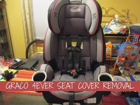 GRACO 4EVER SEAT COVER REMOVAL