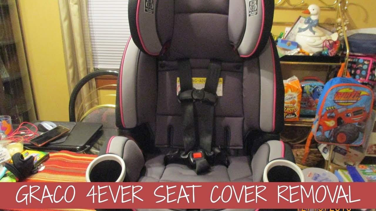 GRACO 4EVER SEAT COVER REMOVAL - YouTube