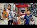 Shopping for  Halloween customs !!! Family Fun vlog