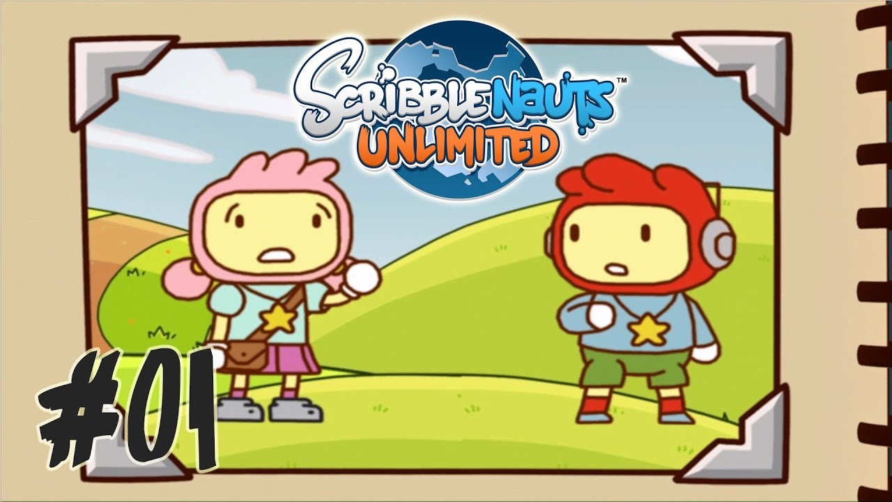 Magic Notebook - #01 Let's Play Scribblenauts Unlimited